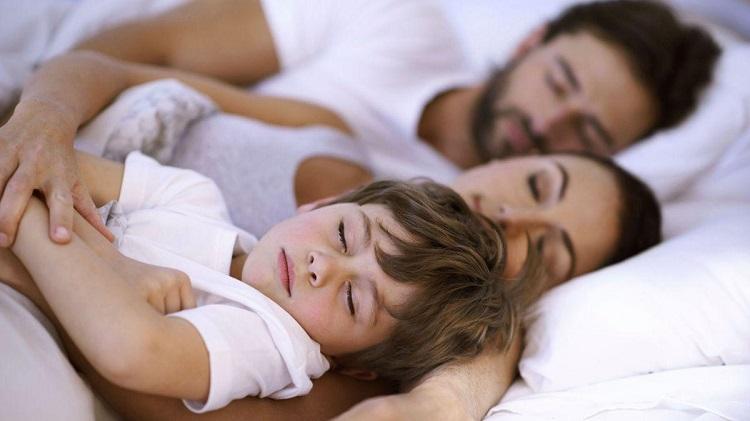 Dormir con nuestros hijos