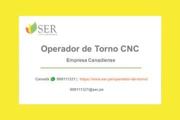 Operador de torno CNC